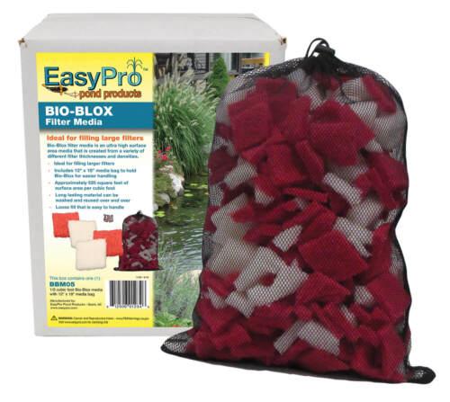 EasyPro Bio-Blox Pond Filter Media 1/3 cubic ft with Filter Media Bag BBM05