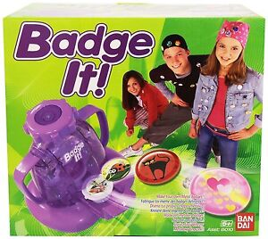 NEW! Bandai Badge It! Badge Maker (Styles May Vary)