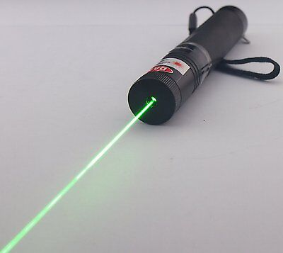Astronomy Focus Adjustable 532nm Green Laser Pointer +  Battery + Charger