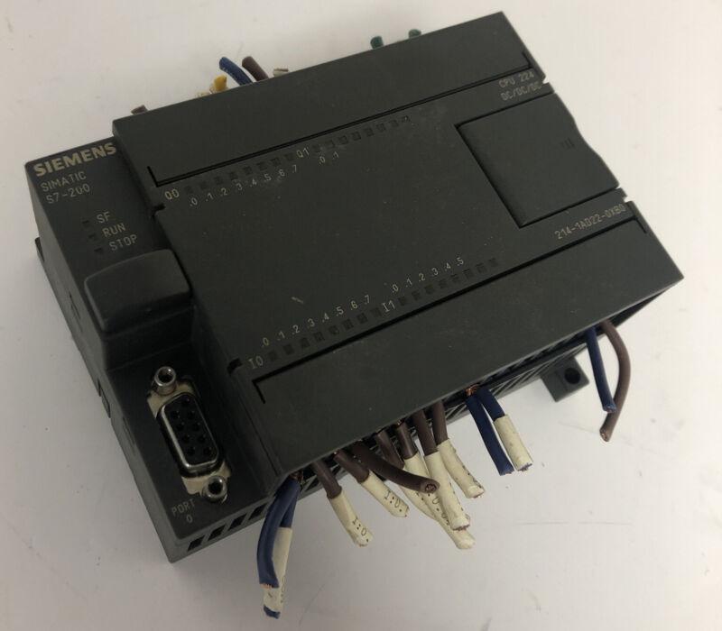 SIEMENS SIMATIC S7-200 CPU 224 AC/DC RELAY 214-1AD22-0XB0