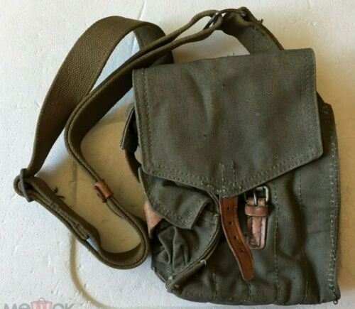 Russian Army Original Pouch for 5 mags sell with shoulder sling new 1950-s USSR