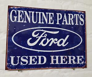 Metal garage signs ebay for Vintage garage signs uk