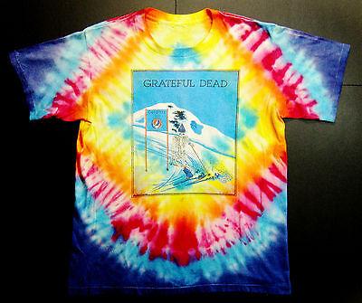 Grateful Dead Shirt T Shirt 1988 Spring Tour Calgary '88 Olympics Skiing Ski L