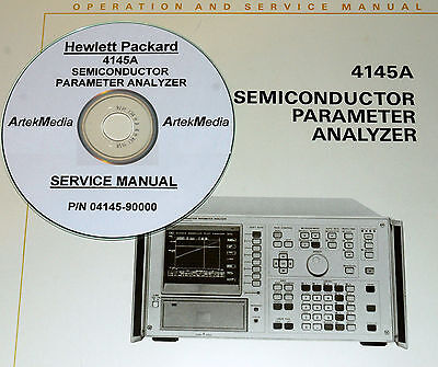 Hp 4145a Semiconductor Parameter Analyzer Os Manual