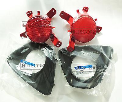 HYUNDAI VELOSTER TURBO 2012-2016 OEM Rear Reflector + Cover 4pcs Set