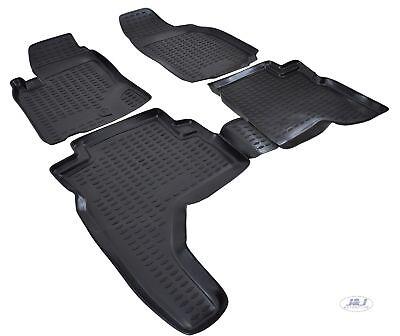 3d exclusive tapis de sol en caoutchouc noir  mitsubishi pajero sport 1998-2005