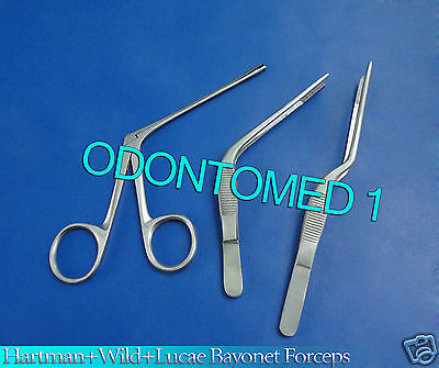 Hartman Alligator Forcepswildelucae Bayonet Forceps Instruments Set