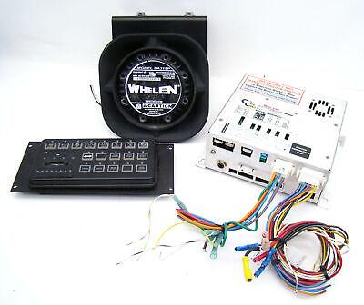 Whelen Cencom Gold Siren Amplifier Traffic Adviser Remote Head Sa315p Speaker G