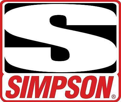 Simpson Helmet Cruiser Medium White SA2015