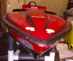 Enforcer RC Boat, gas powered ARTR