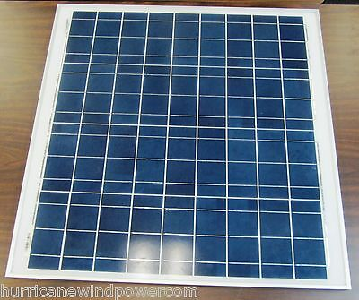 50W PEIMAR/SYNTHESIS 12V Poly-Crystalline Solar Panel 50 Watt Off Grid RV Marine