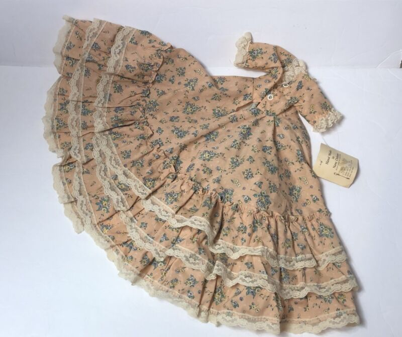 """GAMBINA DOLL Dress Southern Belle Joanne New Orleans 3-piece Outfit Souvenir 16"""""""