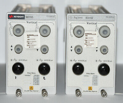 Keysight Agilent 86115d 2034ghz High-volume Optical Test Module Opt 102 Rrr