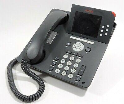 Avaya 9640 Ip Voip Phone Telephone And Stand Anatel