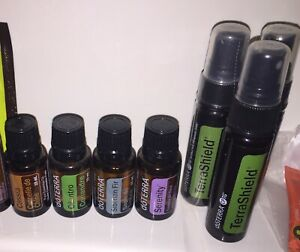 6 Bottles of dōTerra oils (looking to trade or sell)