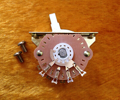 Tritan 5-Way Stratocaster® Switch with Switch Tip and Mounting Screws NEW