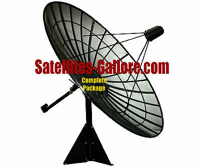 C-Band Prime Focus Mesh Satellite Dish Package (10ft / 3.0m)  for sale  Canada