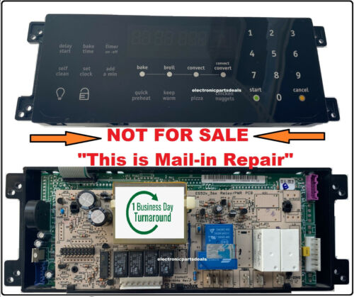 Mail-In Repair Service for 5304495521 oven control board
