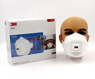 3M™ Aura™ 9332+ FFP3 Atemschutzmaske mit Ventil Mundschutz Maske