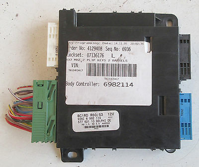 Genuine Used BMW MINI Basic Body Control Module Unit for R50 R53 - 6982114