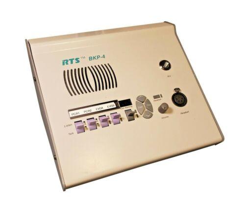 Telex RTS BKP-4 Intercom Bisquit Box