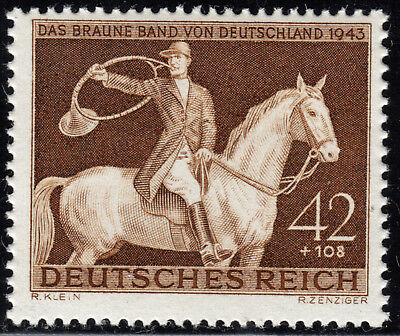 Deutsches Reich 854 ** Das braune Band 1943, postfrisch