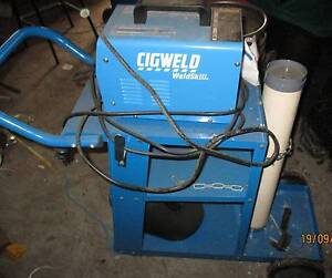 Arc Welder 120 Turbo CIG and Trolley Chandler Brisbane South East Preview