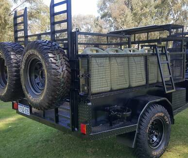 2015 Heavy Duty Off Road Touring Trailer = Near New =