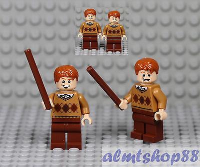 LEGO Harry Potter - Fred & George Weasley Minifigures Custom Gryffindor 10217
