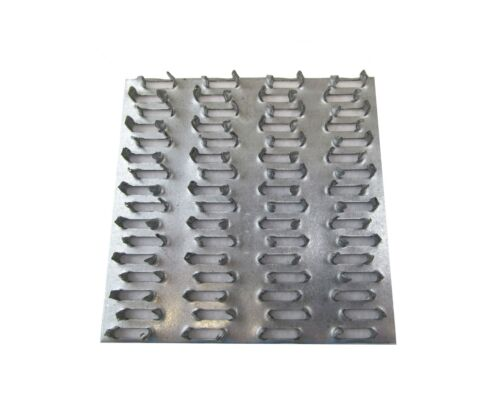 """5"""" x 6"""" Truss Plate Mending Plate (160) Nail Teeth Structural Connecting Plate"""