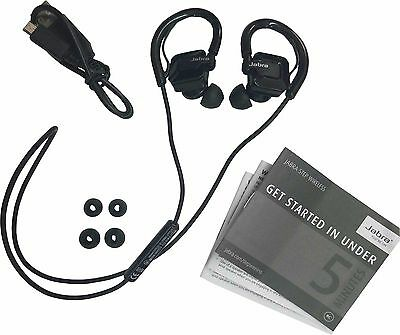 Jabra STEP Black Ear-Hook Headset Wireless Bluetooth Stereo Music Sport Earbuds for sale  Shipping to India
