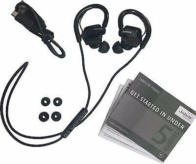 Jabra STEP Black Ear-Hook Headset Wireless Bluetooth Stereo Music Sport Earbuds