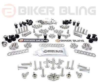 563 PCS TRIUMPH UNIVERSAL MOTORCYCLE FRAME FAIRING BOLTS  RUBBER GROM