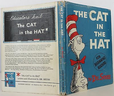 "DR. SEUSS ""The Cat in the Hat"" INSCRIBED FIRST EDITION"