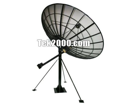 3.0m (10ft) C-band Prime Focus Mesh Satellite Dish With King Post