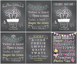 TEACHER GIFT PRINTS Woodberry Maitland Area Preview