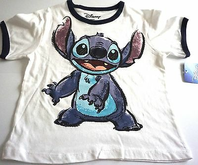 Disney Youth Boys Girls White Stitch Lilo T Shirt Tee Top ](Disney Boys Clothes)