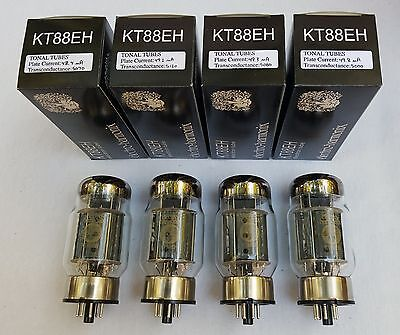 New 4x Electro Harmonix KT88   Matched Quad / Quartet / Four Tubes   Free Ship
