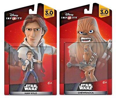 Disney Infinity 3.0 Star Wars Chewbacca & Han Solo Figures - Best Infinity