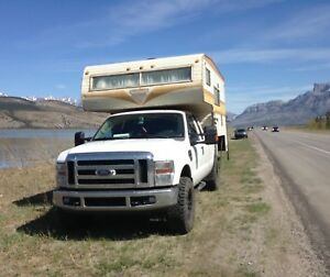 FORD 350 with 10ft camper