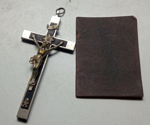 Orig. WW 2 German Cross & Song Book from a Field Priest - marker Junkers Berlin