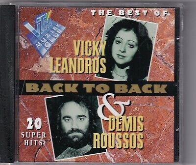 CD : Vicky Leandros & Demis Roussos – Back To Back - The Best Of