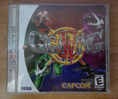 GIGA WING (NTSC-USA) - SEGA DREAMCAST *CIB* *VERY GOOD* *BEST OFFER*