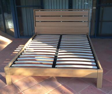 Queen Bed Frame and Head Board Eagle Bay Busselton Area Preview