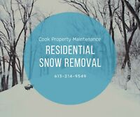 Residential Snow Removal- last chance for 10% off!