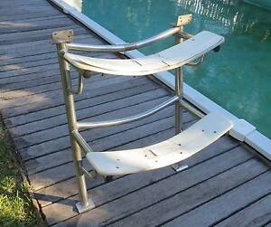 Yacht Steps, Stainless Steel -  curved. Hawthorne Brisbane South East Preview