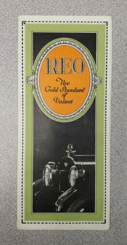 1924 REO Sales Folder
