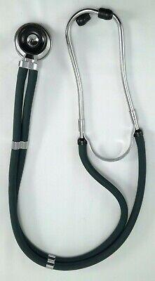 Vintage Prestige Medical Sprague Rappaport Stethoscope Model 105 Hunter Green