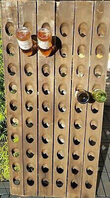 Used, B-Stock Original Champagne Riddling Rack f 60 Wine Bottles Big Oak Winerack  for sale  Shipping to Canada