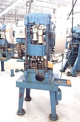 Perkins Transfer Stamping Punch Press Machine 15 Ton Acab Pristine